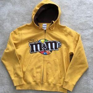 M & m hoodie